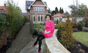 Happy househunter: Karen Mulvaney of the Buyers Agent in the back garden of Adelais, 51 Seafield rd east, Clontarf, on the market with DNG (01 8331802 ) asking &euor;3.75m