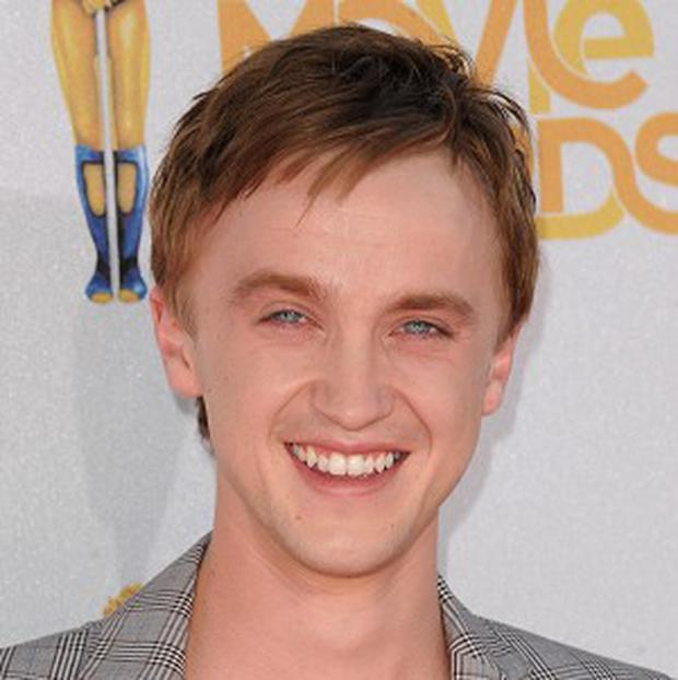 Tom Felton could play Sharon Stone's toy boy in a new movie