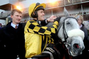 The Listener with trainer Nick Mitchell. Photo: PA