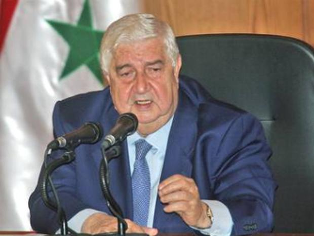 The Foreign Minister, Walid Moallem, said the observers would be free to move around Syria