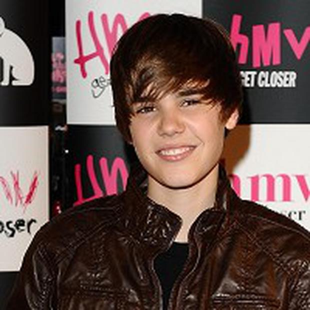 Justin Bieber came out top in a music poll