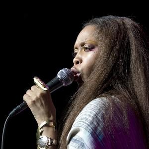 Erykah Badu paid tribute to Tupac's mother at the concert