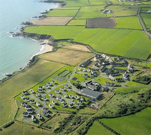 An overhead shot of the site at Hookless, Fethard-on-Sea