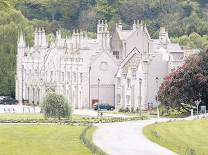 Shelton Abbey open prison, near Arklow, Co Wicklow. An intruder carrying a bottle of vodka managed to enter the prison in the middle of the night before leaving unchallenged