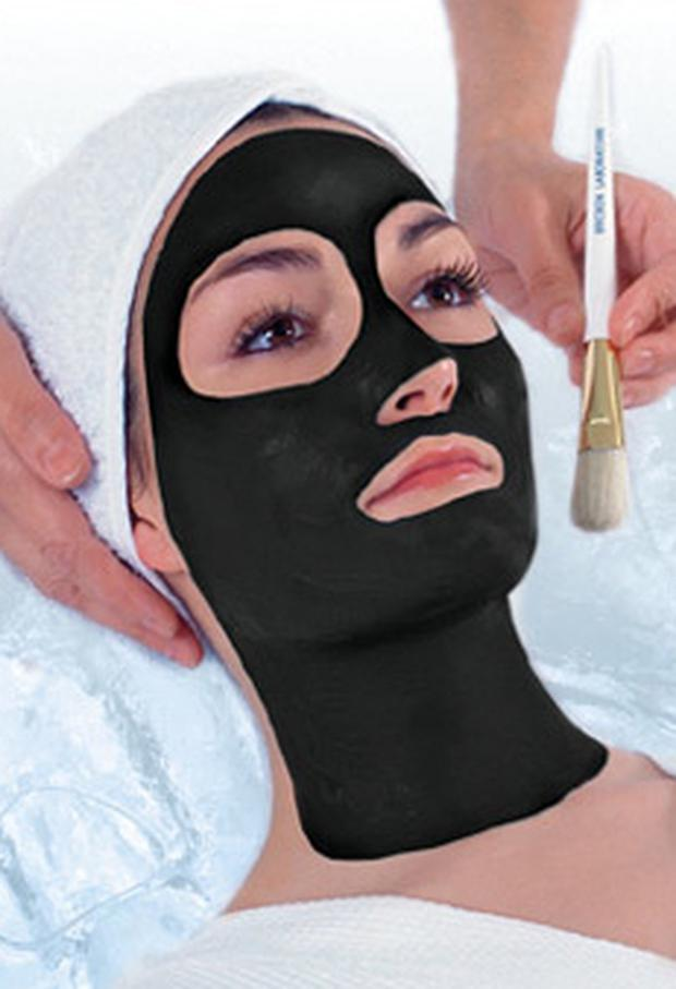 The caviar facial