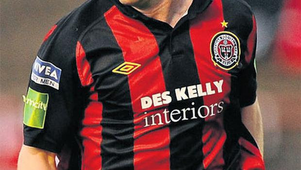 Brian Shelley's career is in limbo as he seeks wages from Bohemians.