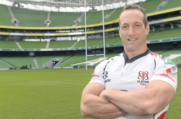 Stefan Terblanche will be hoping to help Ulster reach the Heineken Cup final when he lines out against Edinburgh at the Aviva Stadium on Saturday week