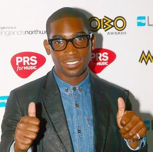 Rapper Tinie Tempah is celebrating his second number one single