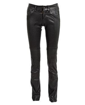 Leather trousers from H&M