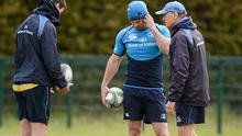 Leinster coach Joe Schmidt knows that Jonathan Sexton (left) and Rob Kearney are vital to Leinster's bid for victory
