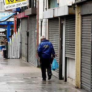 A council press officer who joked that the best way to support Streatham high street was to use napalm has left his job