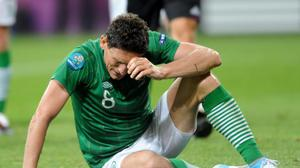 Keith Andrewsafter Ireland's opening Euro 2012 defeat to Croatia