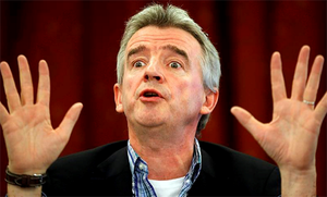 Mr O'Leary said US investors have also seen how low-cost carrier Southwest Airlines has grown over the last three decades and that piqued their interest in Ryanair.