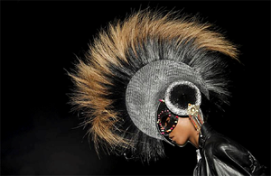 Treacy started out making hats using feathers from his mother's geese in east Galway.
