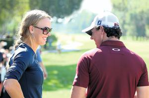 Despite their high-profile relationship Caroline Wozniacki has had a hugely positive effect on Rory McIlroy's career