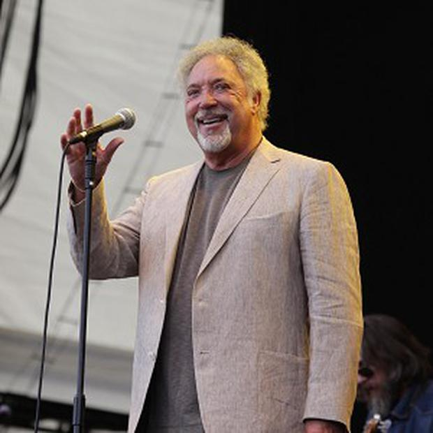 Tom Jones has toned down his sexiness