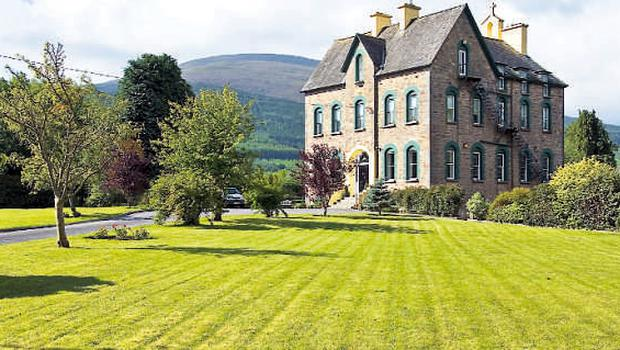 Nestling at the foot of the Knockmealdowns, this towering old country house was home to the Sisters of Mercy for more than 100 years.