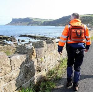 The coastline of Co Antrim was searched in a bid to find Karen Coyles