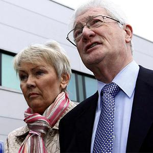 Retired businessman Christopher Tappin with his wife Elaine. Photo: PA