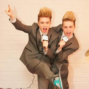 Mary Byrne reckons Jedward could be a Eurovision hit