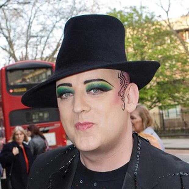 Boy George said he thought the drama lacked heart