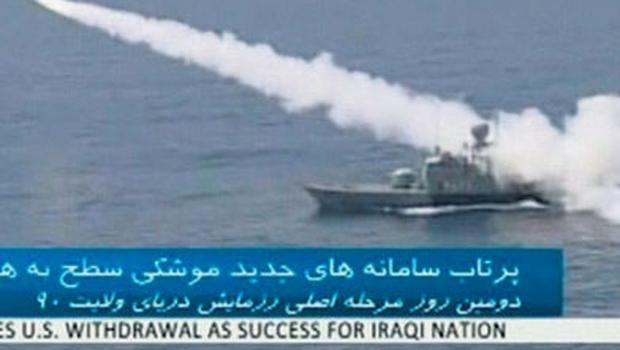 Iran test-fires a missile that it claims can evade radar detection.