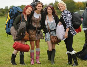 Festival-goers from Galway arrive at Electric Picnic