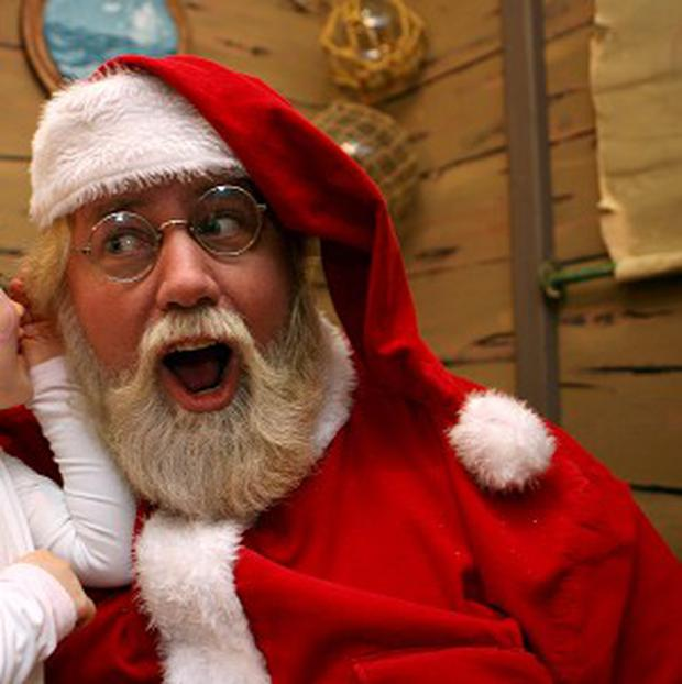 A US teenager discovered he was no Santa Claus after getting trapped in a chimney