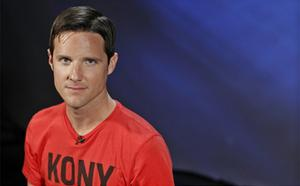 Jason Russell, co-founder of non-profit Invisible Children and director of 'Kony 2012'. Photo: Reuters