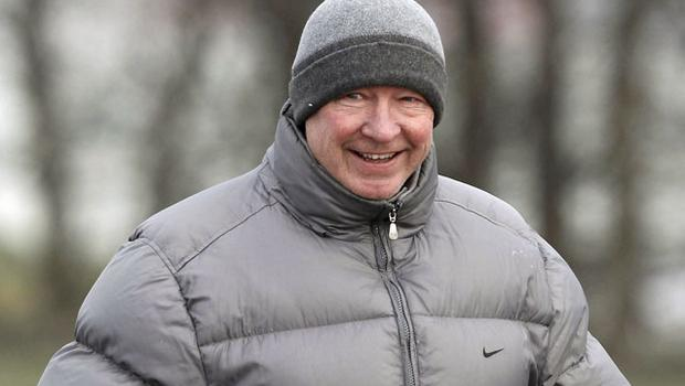 Alex Ferguson believes 30 more points will secure title for Manchester United. Photo: Reuters