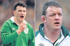 Philip Danaher and Mick Galwey