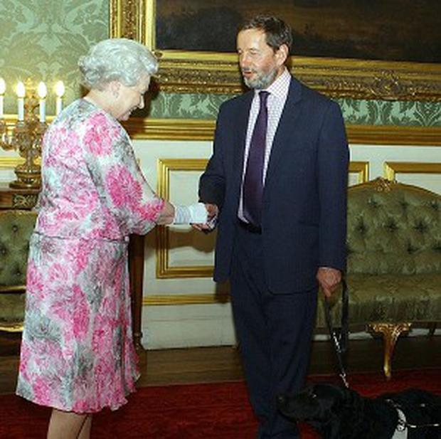 David Blunkett admitted he has made numerous blunders on his past encounters with the Queen