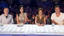 The regular judges Louis, Cheryl and Simon were joined by Katy Perry at the Dublin auditions