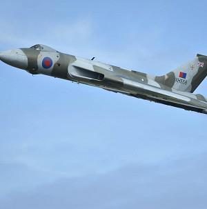 Air enthusiasts have raised enough cash to save the world's last remaining flying Vulcan bomber