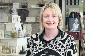 INITIATIVE: Annette Curley in Home Gallery interiors store, Galway