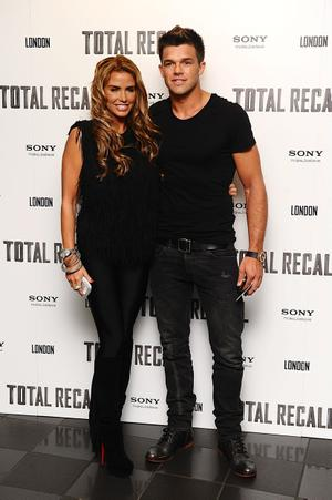 "File photo dated 16/08/2012 of Katie Price and Leandro Penna, who have split up after two years together. PRESS ASSOCIATION Photo. Issue date: Wednesday October 24, 2012. Price, 34, told fans through her website that despite having ""a deep affection for each other"" the couple had decided to part ways. See PA story SHOWBIZ Price. Photo credit should read: Ian West/PA Wire"