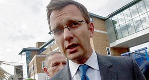 Andy Coulson, the former spokesman for Britain's Prime Minister David Cameron. Photo: PA