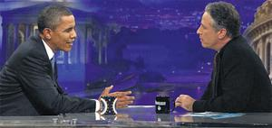 US President Barack Obama, speaking on 'The Daily Show with Jon Stewart'