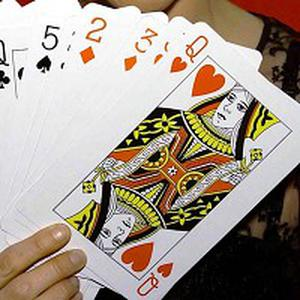 Four card-playing friends were stunned to pick up identical straight run hands in a 61 billion-to-one fluke