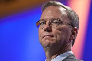 Google was forced to issue a statement from Mr Schmidt, backtracking on the comment. Photo: Bloomberg News