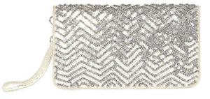 Above: F&F chevron pattern sequinned bag, €12.50, Tesco