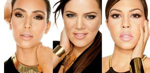 Kardashians have released the first images from their forthcoming range of cosmetics, the new Khroma beauty line.