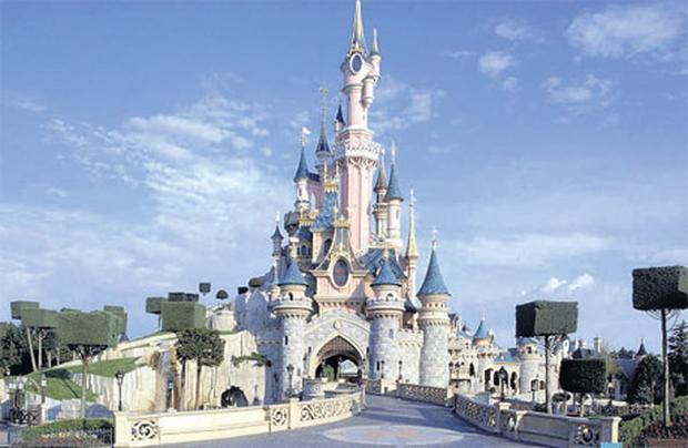 If the shoe fits: Cinderella's Castle is one of the many spectacular family attractions at Disneyland Paris