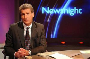 Jeremy Paxman one of the three regular presenters of BBC Two's Newsnight weekdays at 10:30pm. Photo: BBC