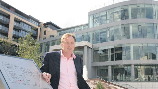 Ray Grehan of Glenkerrin at the Grange development. He qualifies for bankruptcy in the UK by having an address there and doing significant business there over recent years