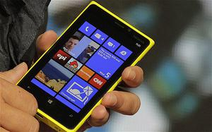 The Nokia Lumia 920 was announced in New York yesterday. Photo: Reuters