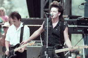In 1983 U2 headlined the event. Photo: Getty Images
