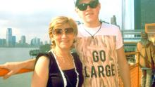 Niall Horan, with mum Maura