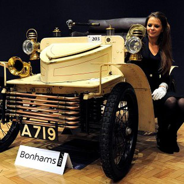 A 1903 Vauxhall was sold at Bonhams for more than 94,000 pounds