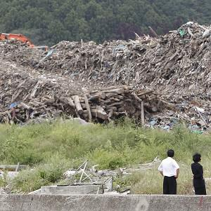 Scientists are developing a 'sniffer' device to help locate buried victims of disasters such as the Japan earthquake (AP)